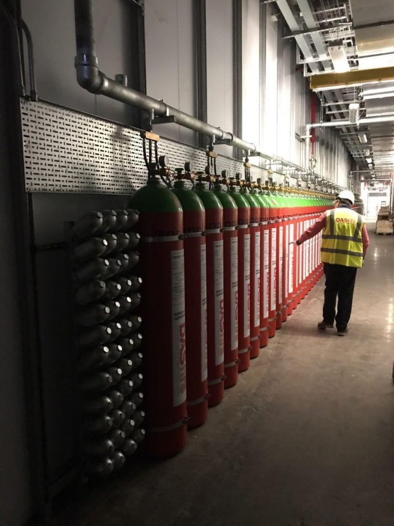 DAS Fire project-installation